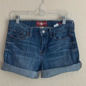 Lucky Brand Cutoff Jean Shorts